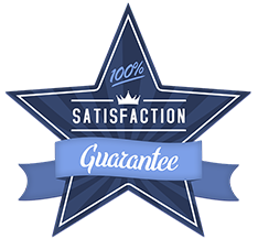 When you work with CVP Productions for video production, you get a 100% Written Guarantee that you will by happy with your product.